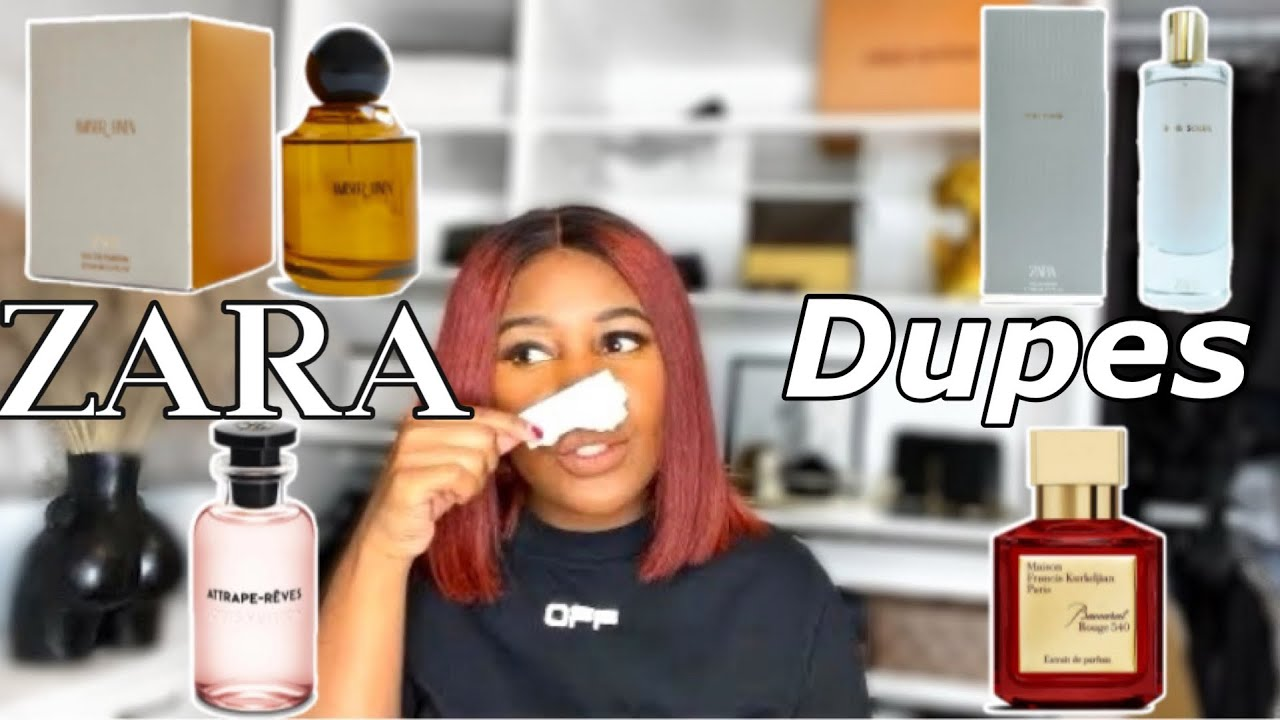 THE BEST ZARA PERFUME DUPES 20  NEW ZARA FRAGRANCES   Baccarat Rouge 20,  Louis Vuitton, Tom Ford