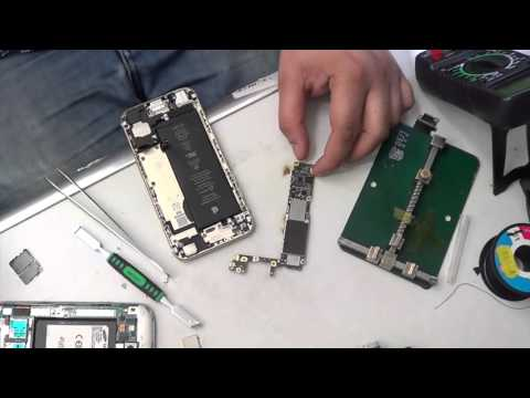 how to fix dead or water damage iphone 6