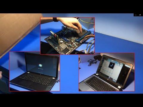 3 ПРОСТЫХ РЕМОНТА: Ноутбуки Hp Pavilion 17, Hp Pavilion G6 и Материнка MSI MS-7699 от подписчика