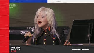 Cyndi Lauper – True Colors (Live with Jon Batiste and Stay Human Band in NYC) | Global Citizen Live