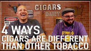 4 Ways Cigars Are Different Than All Other Tobacco (f. Nick Melillo, owner of Foundation Cigars)