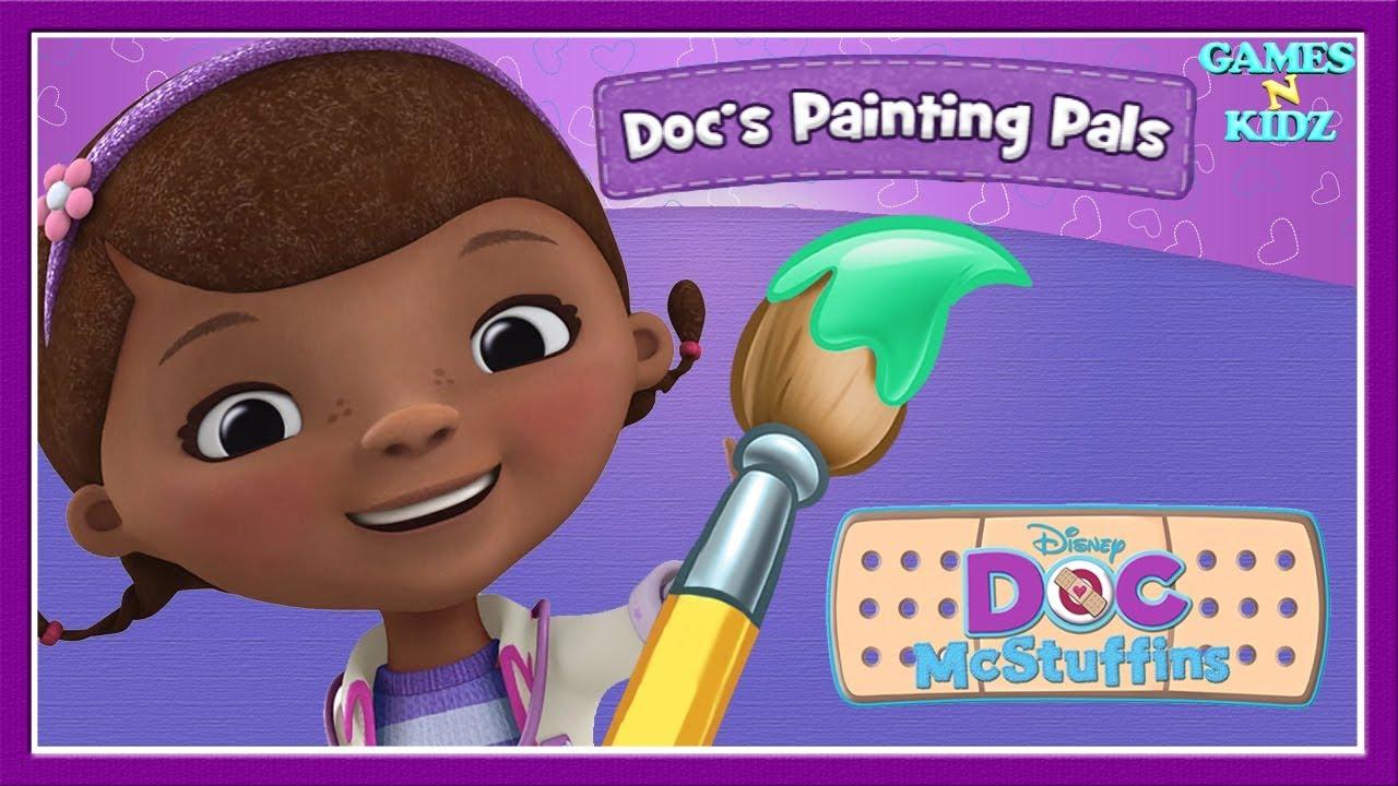 Doc McStuffins Docs Painting Pals Fun Coloring Pages