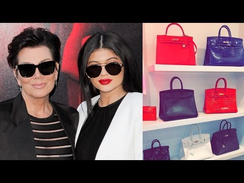 Kylie Jenner Shows Off Kris Jenner's Closet Full Of Birkin Bags