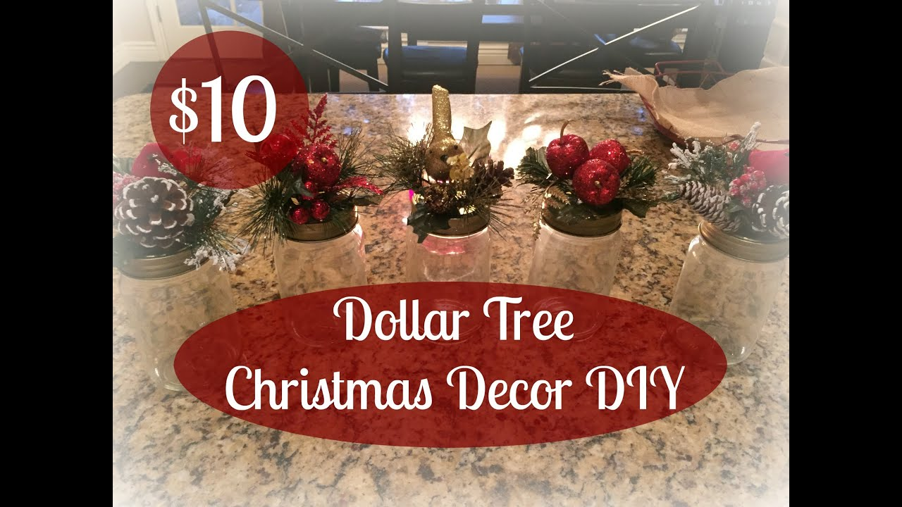 1000 dollar tree christmas decor diy youtube