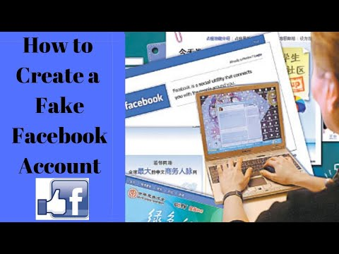 How To Create A Fake Facebook Account In 2 Minutes Without Getting Blocked