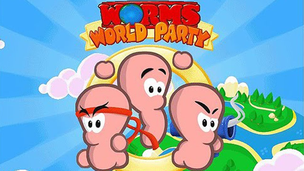 Worms World Party PC Game - Free Download Full Version
