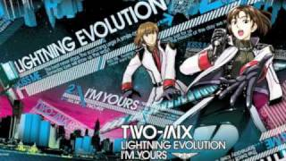"Two-Mix's new single ""Lightning Evolution / I'm Yours"" is available..."