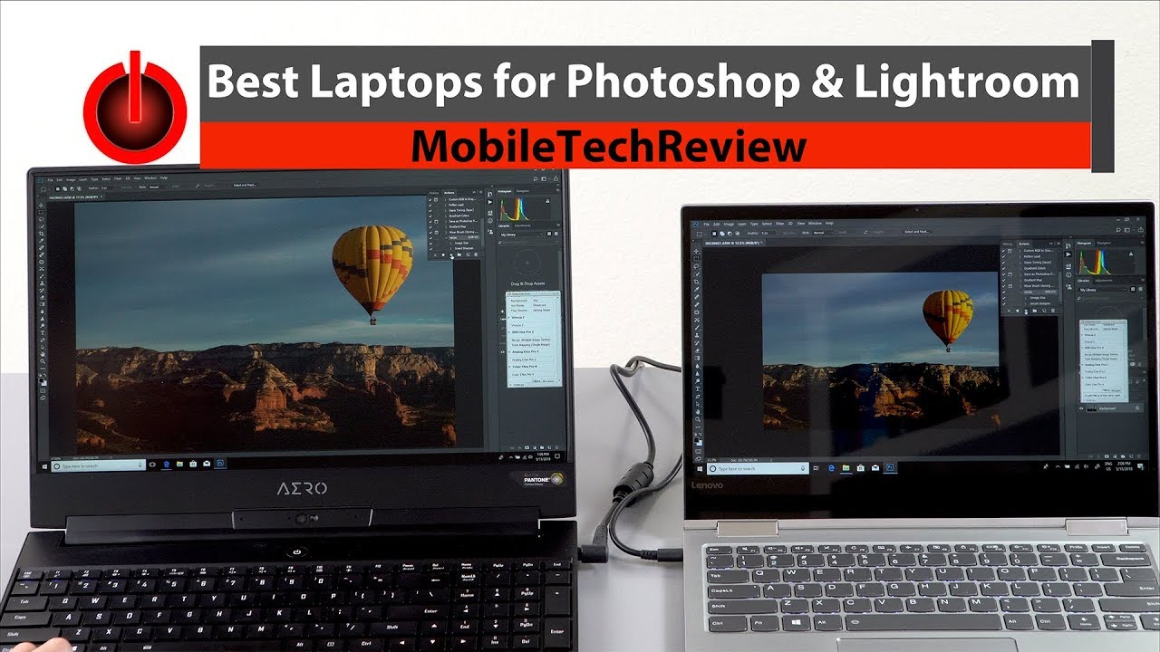 Best Laptops For Photoshop And Lightroom Youtube