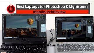 Best Laptops for Photoshop and Lightroom