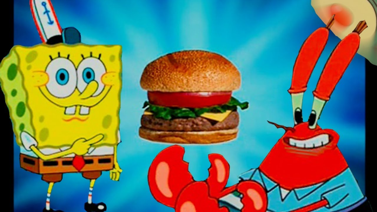 [YTP] Spongebob wants to learn how to make a Krabby Patty but dies from a heart attack