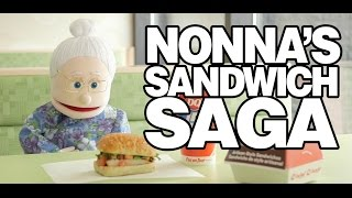 Nonna ' s Sandwich Saga-Video-Serie (feat. Dairy Queen ' s Chicken Bruschetta-Sandwich)