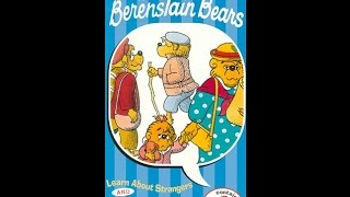 Opening Closing Berenstain Bears Learn About Strangers Vhs