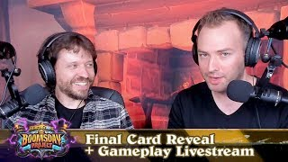 The Boomsday Project: Final Card Reveal + Gameplay Livestream