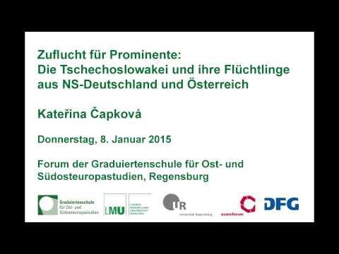 Zuflucht für Prominente. Die Tschechoslowakei und ihre Flüchtlinge aus NS-Deutschland und Österreich