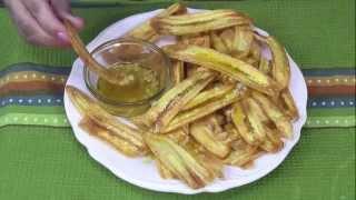 Mariquitas Con Mojo De Ajo- Cuban Plantains Chips