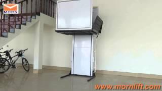 New design vertical wheelchair lift