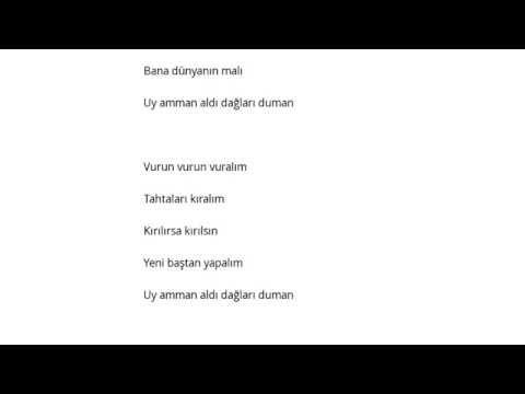 Halk Türküsü   Peştemali Yamalı Şarkı Sözleri Lyrics