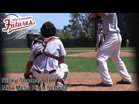 RICKY THOMAS PROSPECT VIDEO, LHP, MIRA MESA HIGH SCHOOL