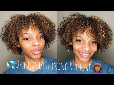 NEW Deep Conditioning Routine + Natural Hair Update | DevaCurl + Mielle Organics | Flawhs