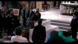 Funeral en la catedral de Almería por Gabriel Cruz