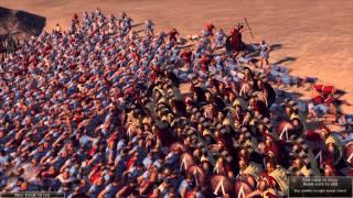Total War: Rome 2 - Massive Battles - 300 Heroes of Sparta vs. 20,000 Mob