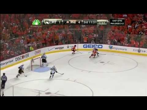 Pittsburgh Penguins - Philadelphia Flyers 1:5 ; 04.22.12. Game 6