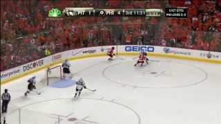 Pittsburgh Penguins - Philadelphia Flyers 1:5 ; 04.22.12. Game 6