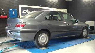 Reprogrammation moteur Peugeot 406 turbo 150cv @ 182cv dyno digiservices