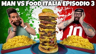 """MAN VS FOOD ITALIA"" episodio 3 - EAGLE'S DELI BURGER CHALLENGE"