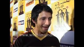 Sharman Joshi at launch of Chetan Bhagat's 'The 3 Mistakes of My Life'