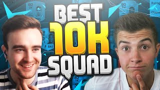 FIFA 16 - THE BEST 10K SQUAD BUILDER vs AJ3FIFA!