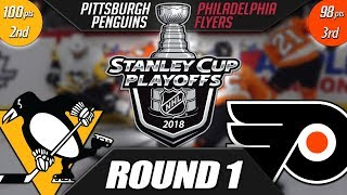 Pittsburgh Penguins vs Philadelphia Flyers - Round 1 Playoff Preview