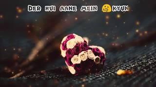 Tumko To Aana Hi Tha | WhatsApp video status | SALMAN KHAN | DAISY SHAH
