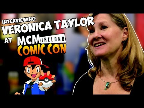Interviewing Veronica Taylor - The Voice of Ash Ketchum - MCM Dublin 2017