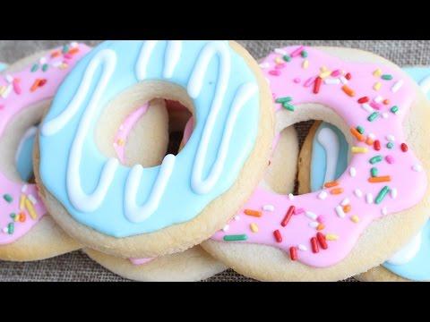 How to make doughnut icing recipe for cookie dough
