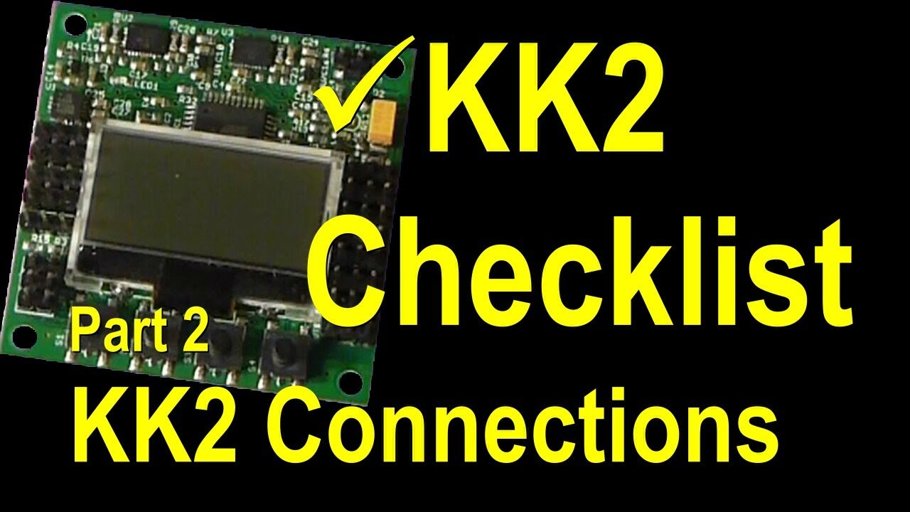 kk2 0 flight controller setup and settings rc helicopter quadcopter reviews transmitter setup guides [ 1280 x 720 Pixel ]