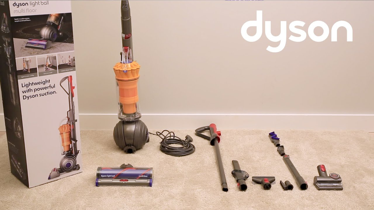 Dyson Light Ball Upright Vacuum Getting Started Uk