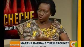 Martha Karua : A turn around? #Cheche