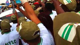 See What Happened When Davido Resumes Lagos Nysc Camp