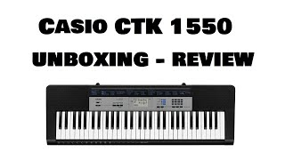 Casio CTK 1550 Unboxing - Review | Piano Keyboard