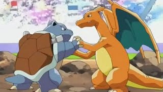 Pokemon [AMV] ash vs gary Me Against The World Ash vs Gary