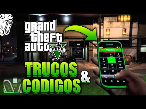 GTA 5 TODOS LOS TRUCOS & CÓDIGOS PARA PS4/PS3! |  CLAVES DE CELULAR/CLAVES GTA5