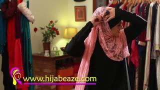 vuclip Lace Hijab Shanakht Style Look  Hijabeaze by Urooj Asif