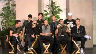 NKOTBSB Interview Bring Family with them on tour [NBC- 6-03-2011]
