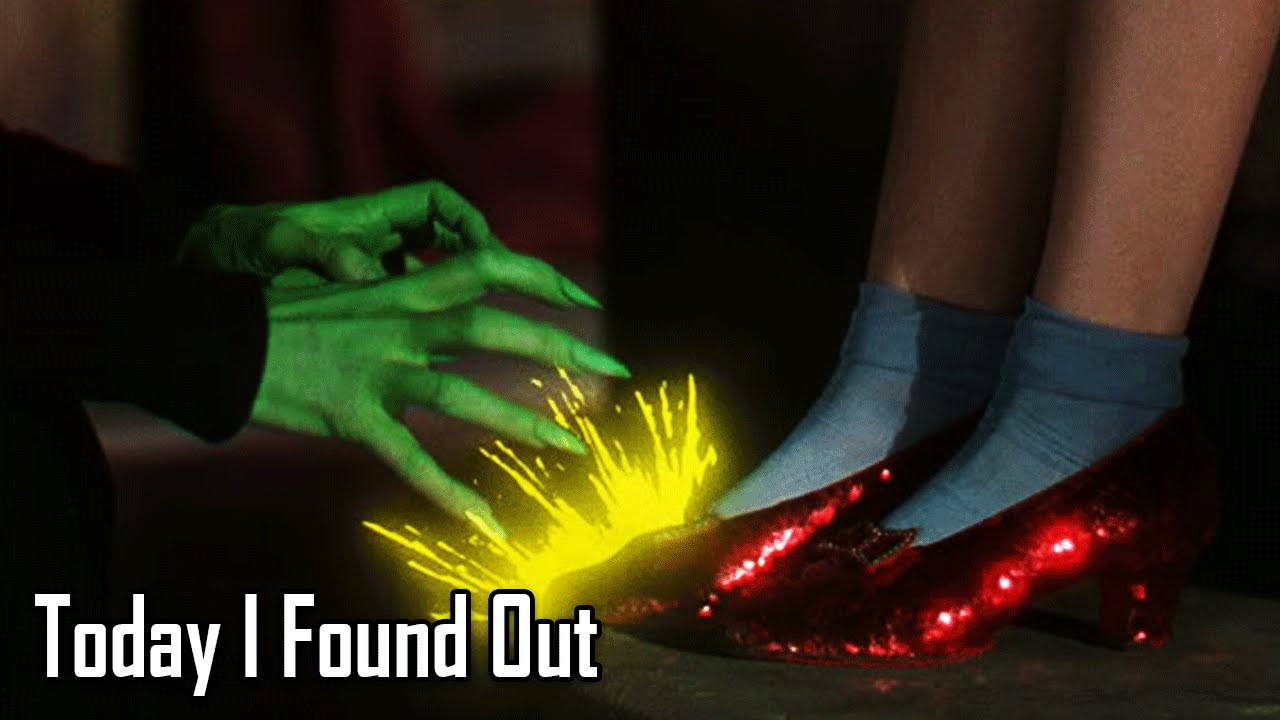 The Story Of Dorothys Ruby Slippers Youtube