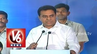 IT Minister KTR Hard Sells Hyderabad at ICT Industry Round Table meet