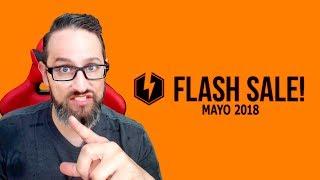 Ya llegó la FLASH SALE de Mayo 2018