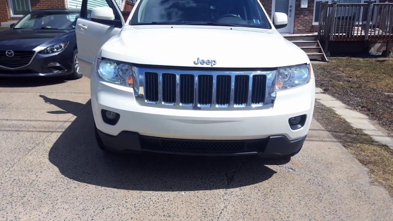 2011 Jeep Grand Cherokee Led Headlight Conversion Install