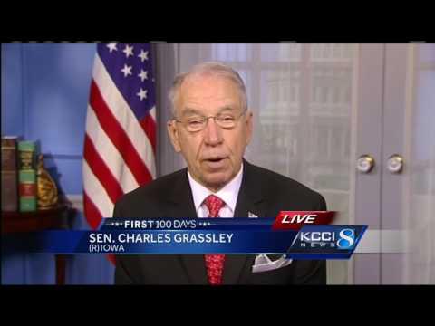 Sen. Grassley talks to KCCI About Trump's address