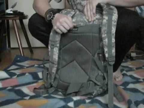130ba716fb mil-tec US assault pack 50L - YouTube